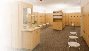 Separate Locker Room