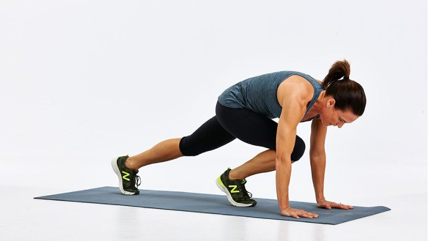 Mountain Climbers - Short Interval Weight Management Workout