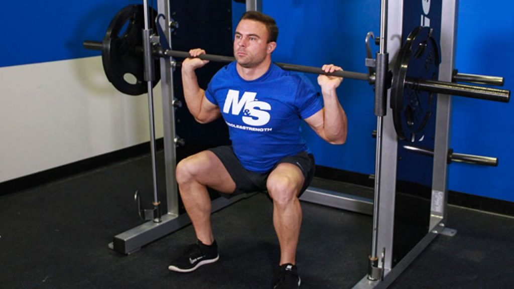 Smith Machine Squats - Exercises You Should Not Do