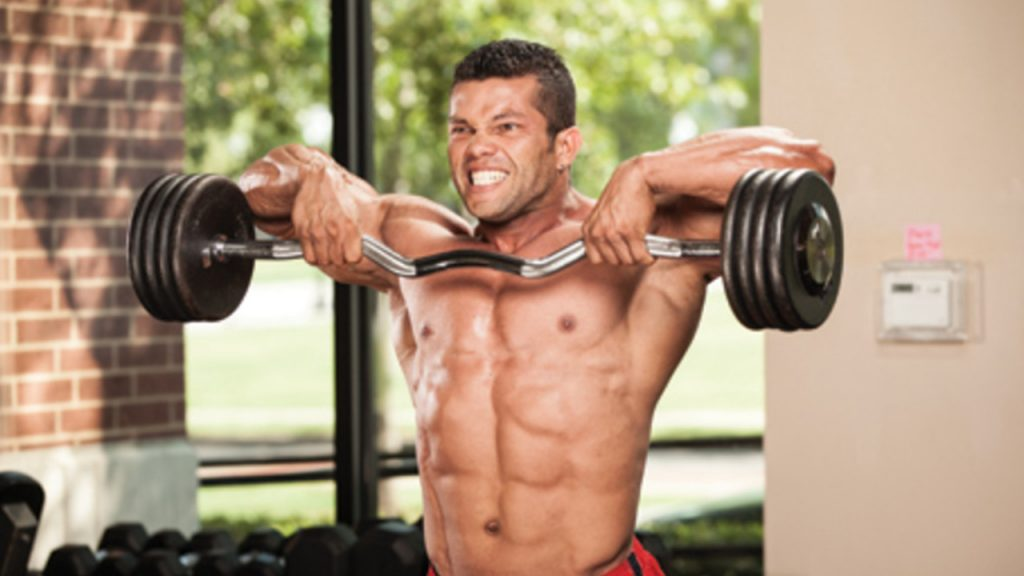 Upright Rows - Workouts to Avoid
