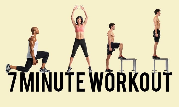 7-Minute Workout – Best Time-Efficient Workouts to Practice