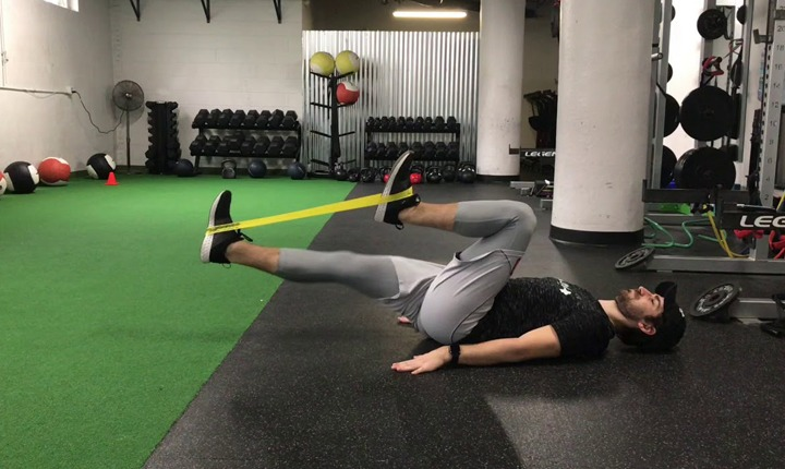 Banded Hip March