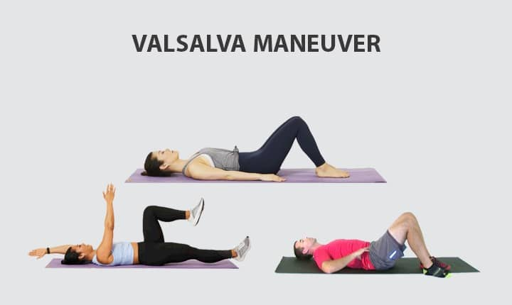Valsalva Maneuver to Reduce Back Pain