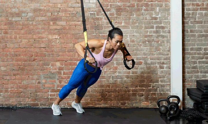 TRX Chest Fly