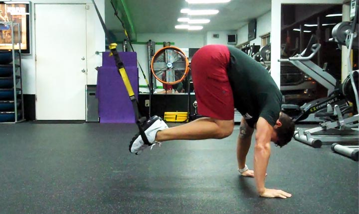 TRX Atomic Pushup