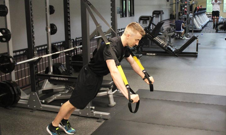 TRX Chest Press