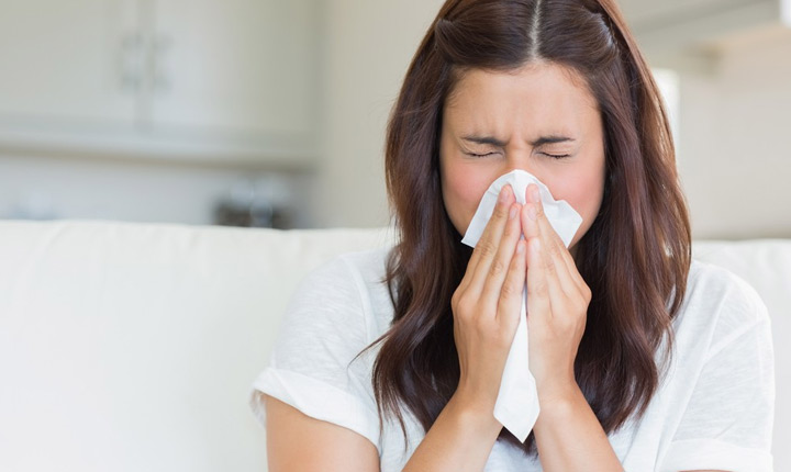 Cover Your Mouth While Sneezing