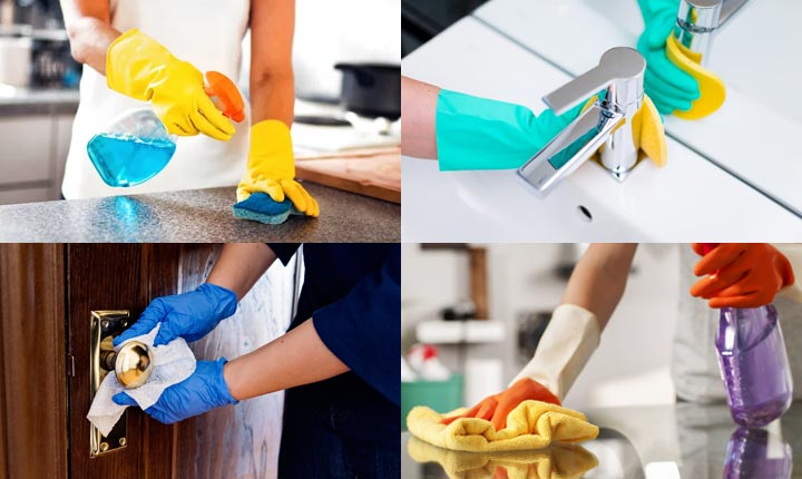 Disinfect Household Items