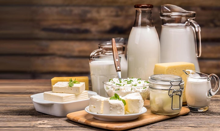 Dairy product - what to eat after workout