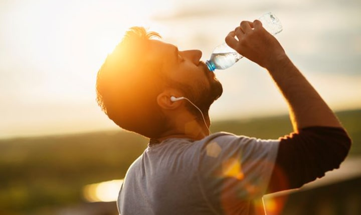 Water - What to eat before workout
