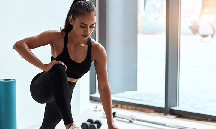 Workout during menstrual cycle