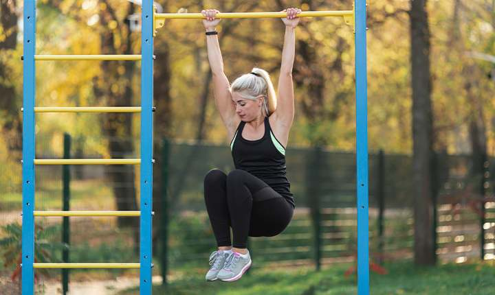Pull-Ups - exercises that help you gain weight