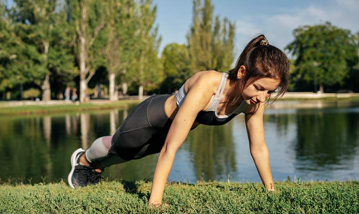 5 Common exercises that help you gain weight- Push-ups