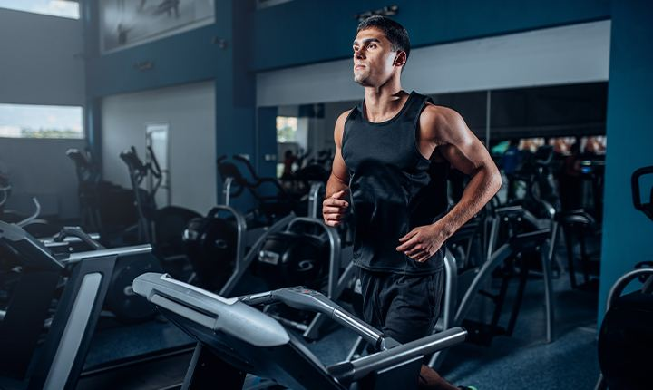 Schedule your workout sessions during quiet hours to restart workout after a long time