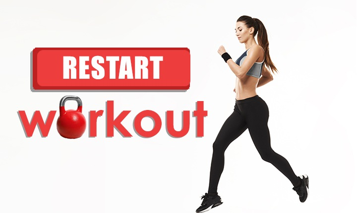 Feature Image- Tips To Restart Fitness Training in Minutes