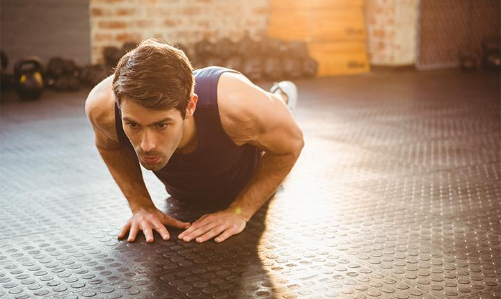 Triangle/Diamond Pushup