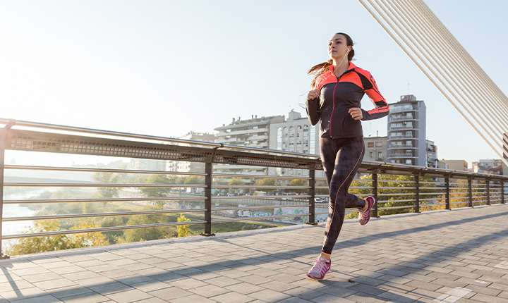 Embrace running while commuting