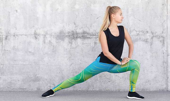 Keep your workout clothes handy