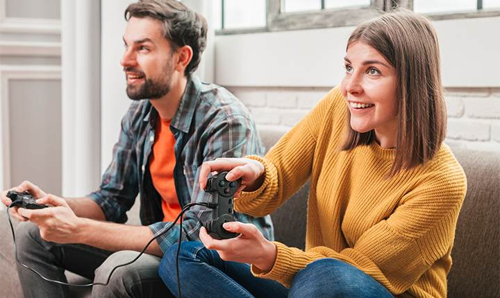Take fun resolutions while playing video games