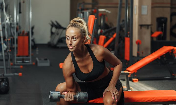 Wear clothes that are comfortable and lose- CrossFit workout